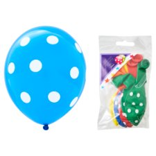 Tesco Polka Dot Balloons 10 Pack