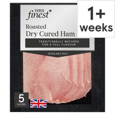 Tesco Finest Roast Dry Cured Ham 125G