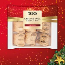 Tesco Sausage Roll Selection 270G