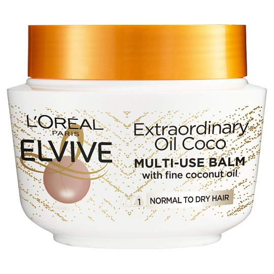 L'oreal Elvive Coconut Oil Mask 300Ml