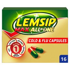 image 1 of Lemsip Max Cold And Flu All In One Capsules X 16