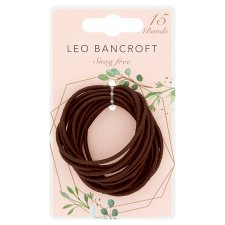 Leo Bancroft Snagfree Bands Brown 15 Pack