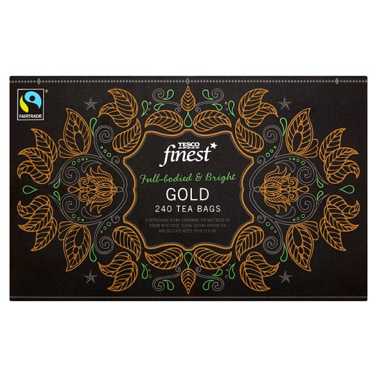 Tesco Finest Gold Tea Bags 240S 750G