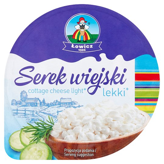 Lowicz Light Cottage Cheese 150G