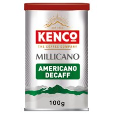 Kenco Millicano Americano Decaffeinated Instant Coffee 100G