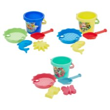 Carousel Seashore Bucket Set