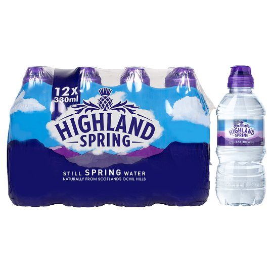 image 1 of Highland Still Spring Water 12 X 330Ml