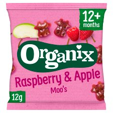Organix Raspberry Moo Fruit 12G