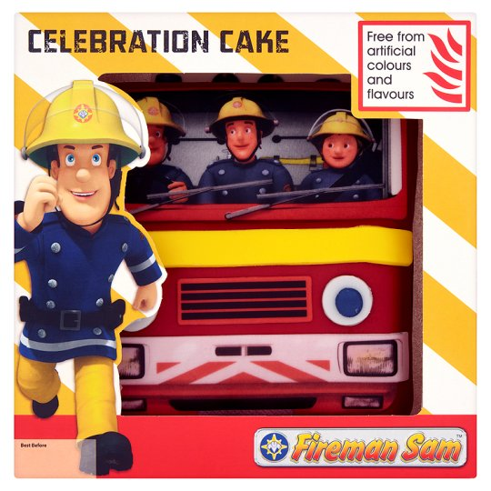 Celebration Fireman Sam Cake Groceries Tesco