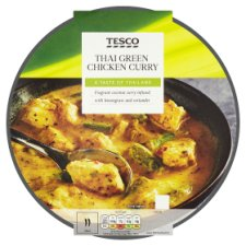 Tesco Thai Green Chicken Curry 460G