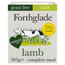 Forthglade Grain Free Lamb And Vegetable Dog Tray 395G