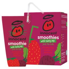Innocent Strawberry Apple And Beetroot Smoothie 4 X 180 Ml
