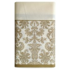 Gold Damask Table Cover 180Cm X 120Cm