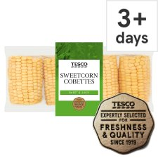 Tesco Sweetcorn Cobettes 4 Pack