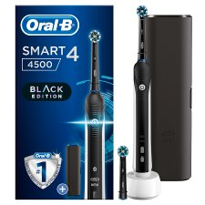 Oral-B Smart 4 4500 Black Edition With Travel Case