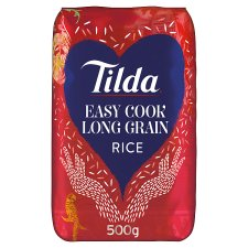 Tilda Easy Cook Long Grain Rice 500G