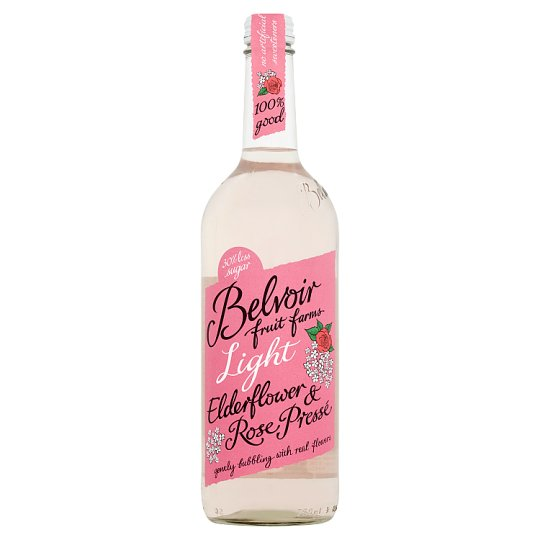 Belvoir Presse Elderflower And Rose Light 750Ml