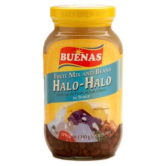 Buenas Halo Halo Fruit Mix And Beans In Syrup 340G