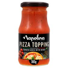 Napolina Pizza Topping Tomato And Basil 300G