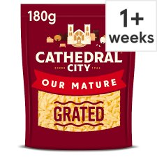 Cathedral City Grated Mature Cheddar Cheese 180 G