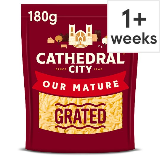 Cathedral City Grated Mature Cheddar 180G