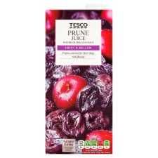 Tesco Prune Juice Water 1 Litre