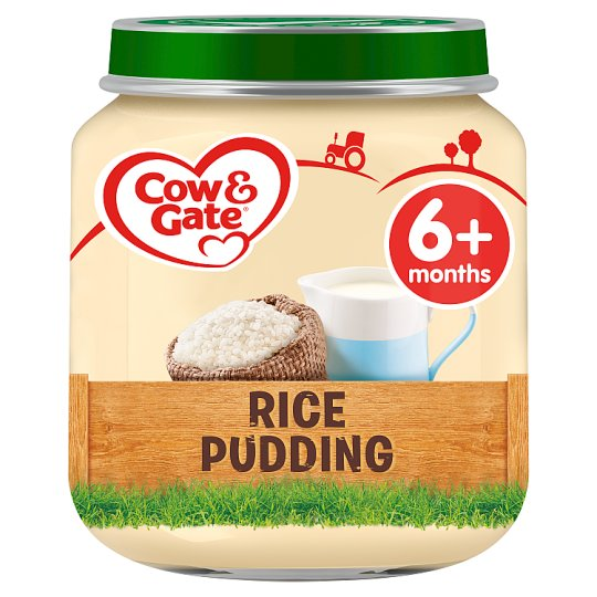 image 1 of Cow And Gate Rice Pudding Jar 125G 6 Mth+