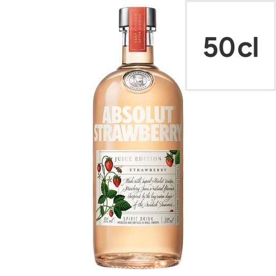 image 1 of Absolut Strawberry Juice Edition 50Cl 35%