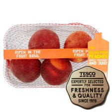 Tesco Ripen At Home Peaches Min 4 Pack