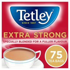 Tetley Extra Strong 75 Teabags 237G