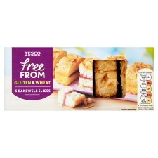 Tesco Free From Bakewell Slices 190G