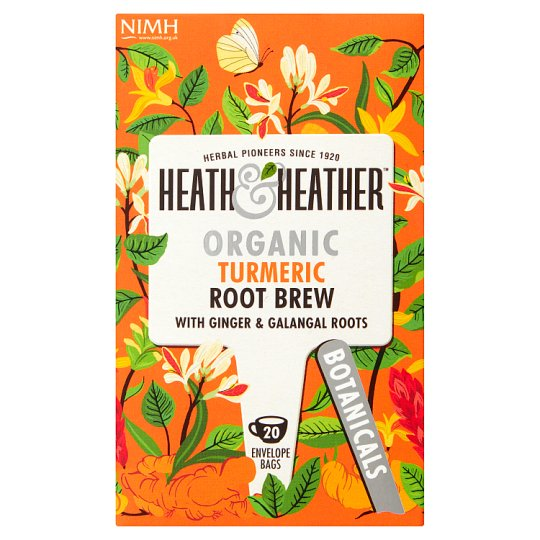Heath And Heather Organic Turmeric Root Brew 30G