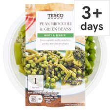 Tesco Minty Green Vegetable With Herb Butter 125G