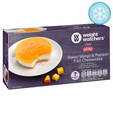 Weight Watchers Mango And Passion Fruit Cheesecake 170G