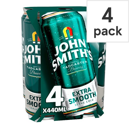 John Smiths Extra Smooth 4X440ml Cans