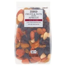 Tesco Fruit And Nut Mix With Apricots 300G