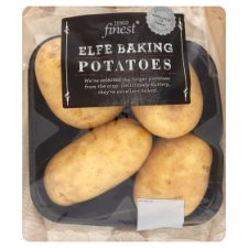 Tesco Fin Elfe Baking Potatoes 4 Pack