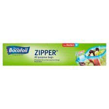 Bacofoil Zipper Medium Bags X12