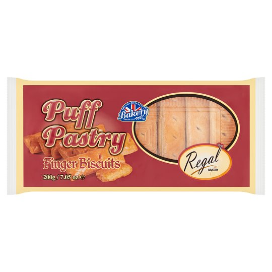 Regal Puff Pastry Finger Biscuits 200G