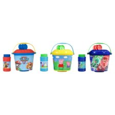 Licensed Bubble Bucket Assorted