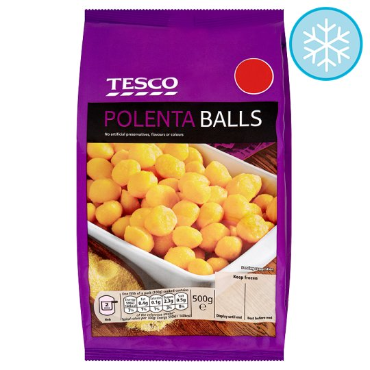 tesco polenta balls 500g product properties sorry this product is