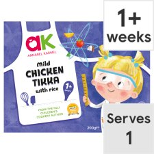 Annabel Karmel Chicken Tikka And Rice Ready Meal 200G