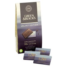 Green And Blacks Dark Chocolate 70% Cocoa 120G