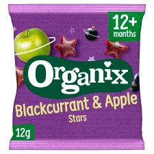 Organix Blackcurrant Star Fruit 12G