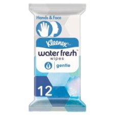 Kleenex Water Fresh Gentle Wet Wipes 12 Pack