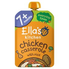 Ella's Kitchen Chicken Casserole With Rice 130G