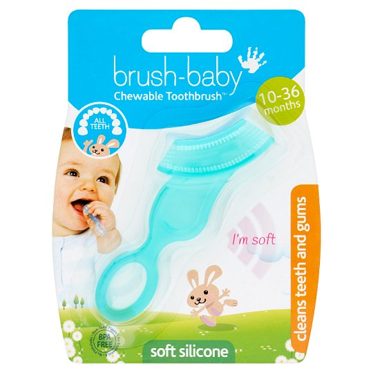 Brush Baby Chewable Toothbrush Clear