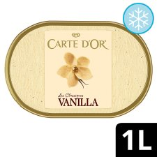 Carte D'or Vanilla Ice Cream Dessert 1L