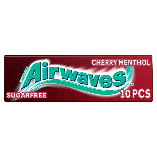 Wrigleys Airwave Cherry Menthol 10 Pellets
