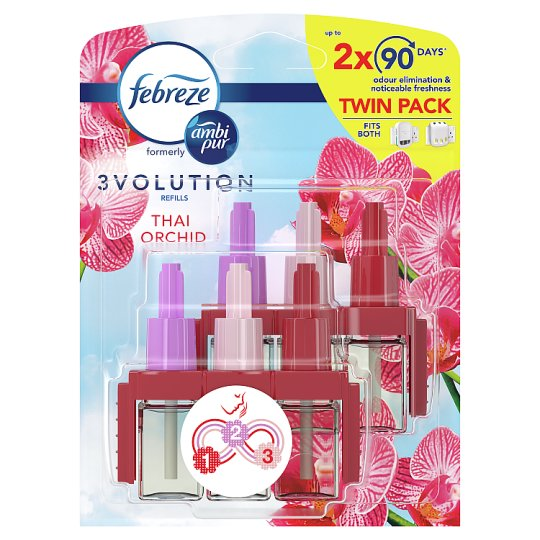 Ambi Pur 3Volution Thai Refill Air Freshener Twin Pack